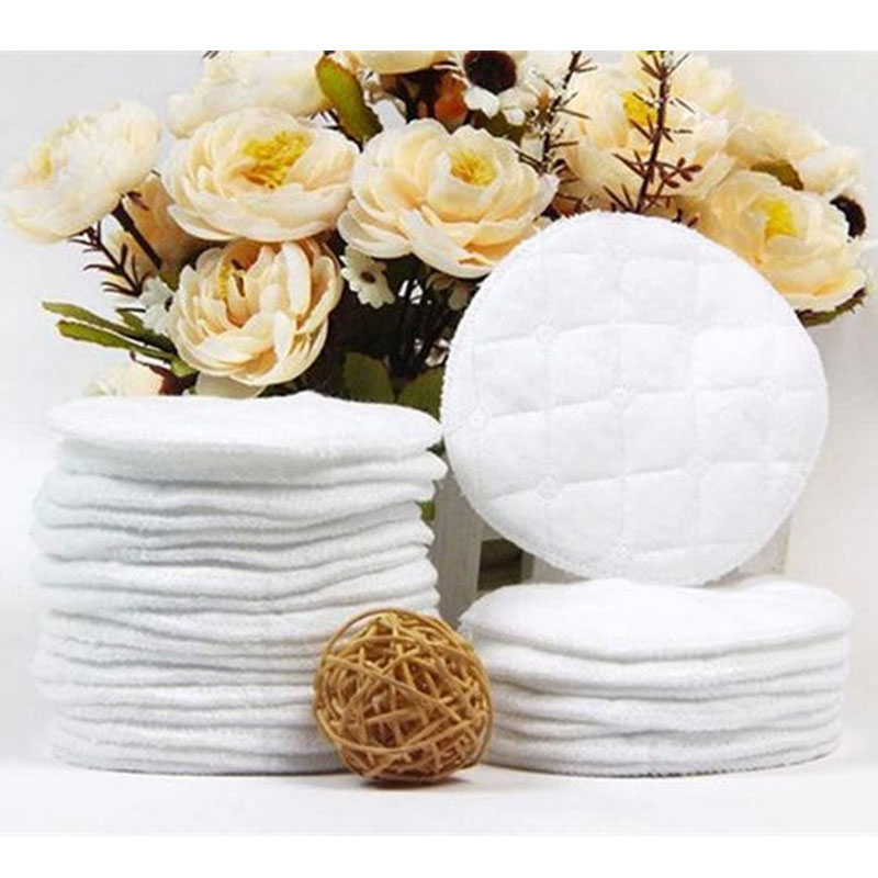 10pcs/Lot Reusable Nursing Breast Pads Washable Soft Absorbent Feeding Breastfeeding Pad Useful NEW