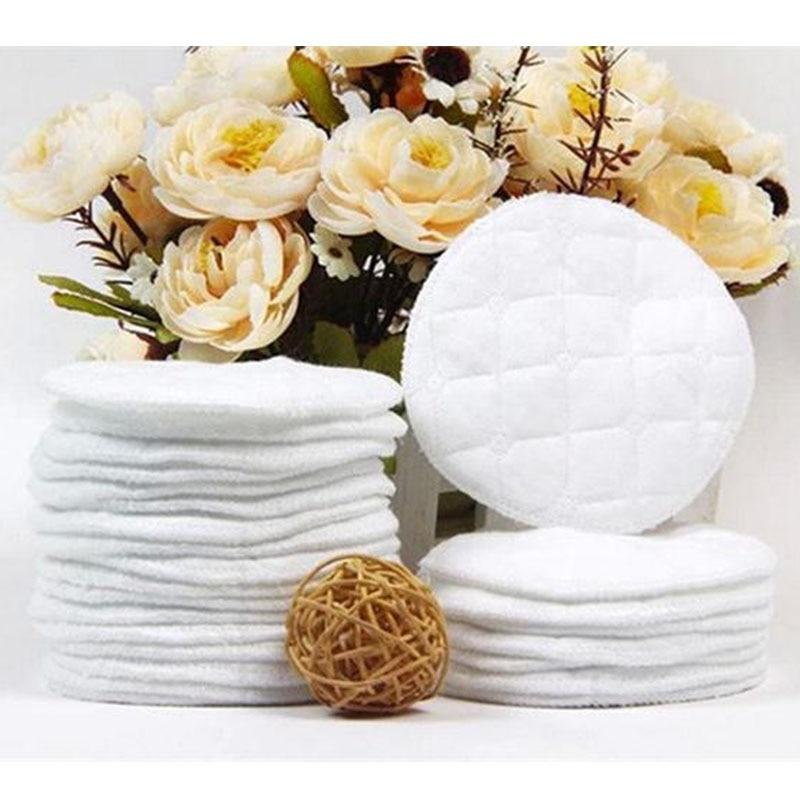 10pcs/Lot Reusable Nursing Breast Pads Washable Soft Absorbent Feeding Breastfeeding Pad Useful NEW