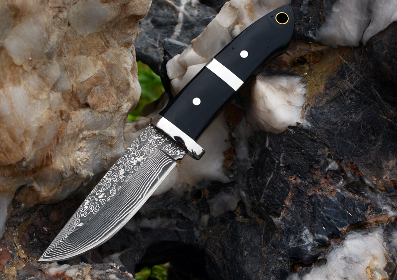 Voltron Damascus Steel Straight Knife, Mountaineering, Camping, Outdoor Multi-function Knife, Collection Gift Carry Tool 2016 hot high grade damascus knife basic damascus steel knife outdoor boutique gift collection straight knife cutting tools