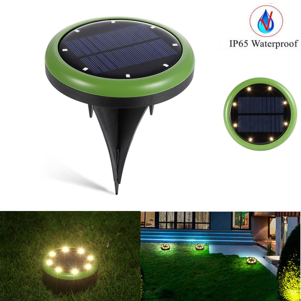 4 lampada solar do jardim ao ar livre gramado lampada subterranea caminho deco luzes quintal de