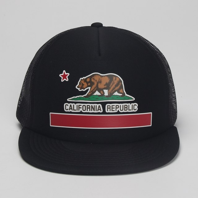 b3a1d409 ... coupon code dongking fashion trucker hat california flag snapback mesh  cap retro california love vintage california