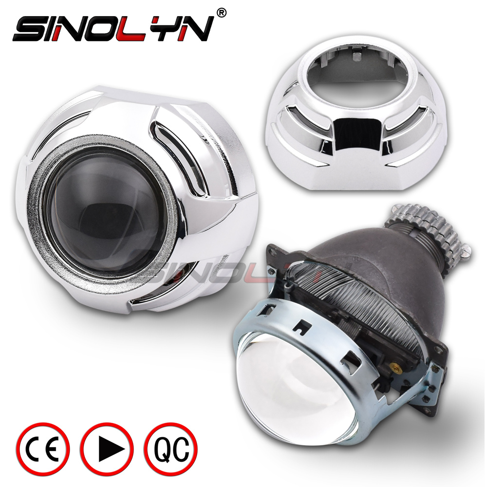 Sinolyn D2S Xenon Lenses HID Projector Bi-xenon Lens 3.0 Koito Q5 Car Lights For H4 Automobiles Headlight Accessories DIY Tuning