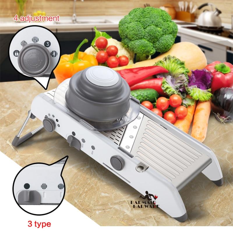 Manual Vegetable Cutter Mandoline Slicer Onion Grater Julienne Potato Fruit Tools Kitchen Accessory