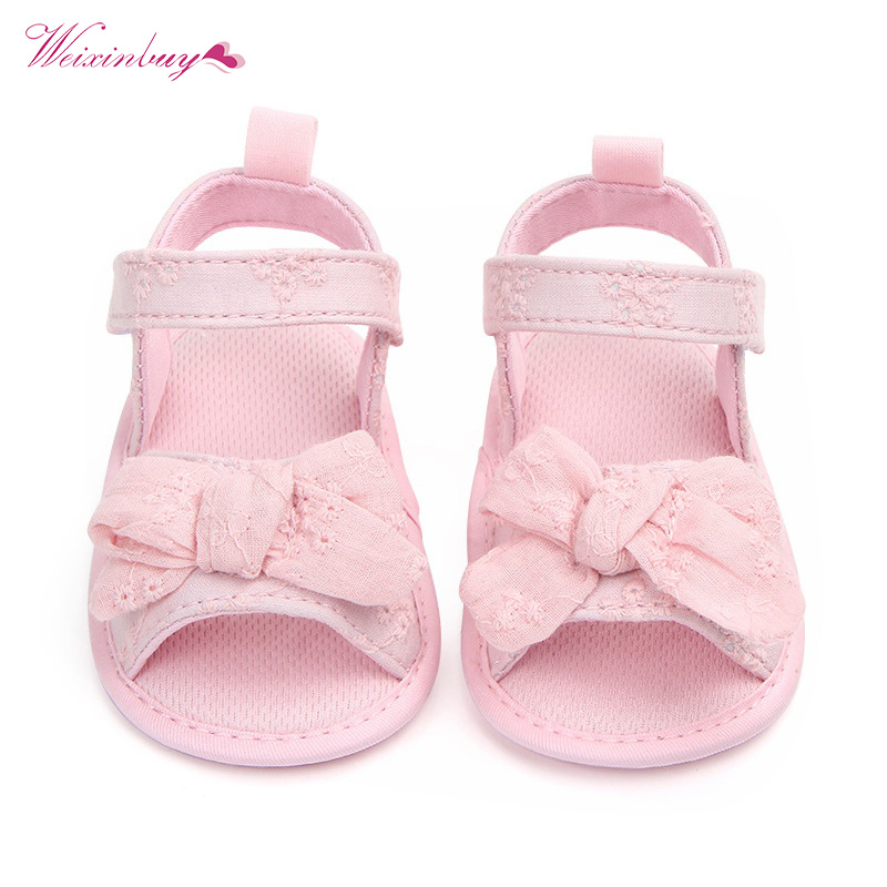 PU Leather Newborn Baby Boy Girl Shoes Bow Baby Moccasins Soft Moccs Shoes Bebe Soft Soled Non-slip First Walkers