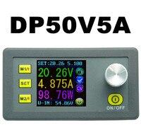 LCD Converter Adjustable Voltage Meter Regulator DP50V5A Programmable Power Supply Module Buck Voltmeter Ammeter Current Tester