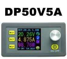 ЖК-преобразователь Регулируемое Напряжение Регулятор метр DP50V5A Программируемый Powerr Питания Понижающий Вольтметр Амперметр Текущий тестер