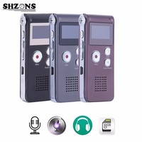 8GB High Quality Digital Audio Sound Voice Recorder Mini USB Flash Vocie Recording 650Hr Dictaphone MP3