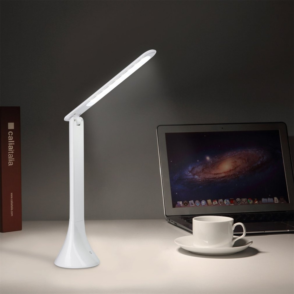 3 Levels Dimmable Foldable Eye-care LED Desk Lamp Rechargeable Touch Sensor Reading Eye Protective Night Light3 Levels Dimmable Foldable Eye-care LED Desk Lamp Rechargeable Touch Sensor Reading Eye Protective Night Light