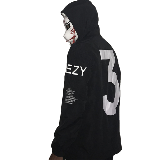 a0e7623f8 Drop Shipping Men YXA Windbreaker Jacket Kanye West Logo Letter Printed Y-3  Brand Season Sportswear 3 Men s Coats Zipper Outwear