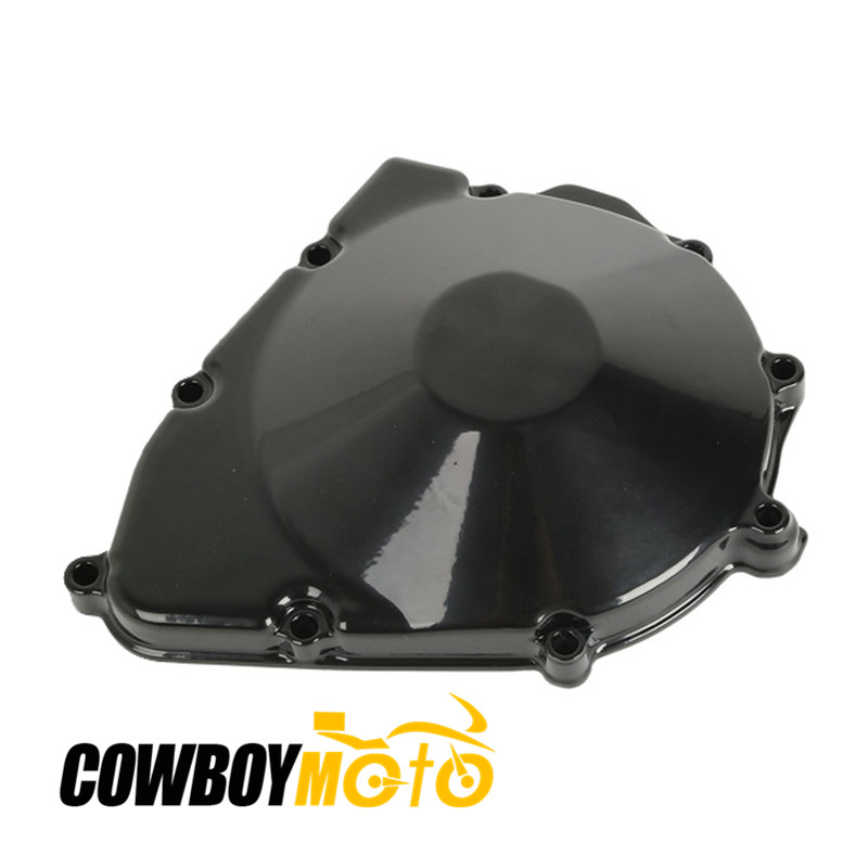 Motorcycle Left Engine Cover Crankcase For GSX600F GSX750F GSX 600 750 F KATANA 1998 - 2006 99 00 CNC Aluminum New starpad for lifan motorcycle v250 lf250 p combination left crankcase cover new accessories