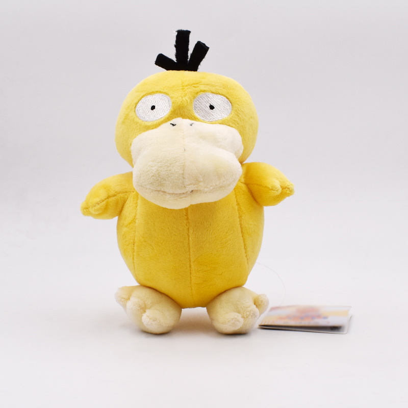 18CM Japanese Anime Cartoon Doll Psyduck Plush Toys Duck Stuffed Animals Plush Toy Dolls Cute Gifts For Baby image