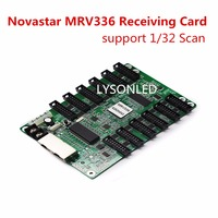 Novastar MRV336 Full Color LED Video Display Receiving Card 12xHUB75 Ports 256x256 Pixels Support 1 32