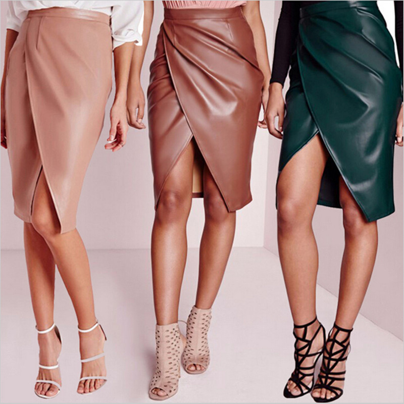 Popular Ladies Wearing Leather Skirts-Buy Cheap Ladies ...