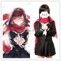 Kagerou Project K Project Cosplay Costume Japanese Anime MekakuCity Actors Tateyama Ayano School Uniform Sailor costumes ACG89