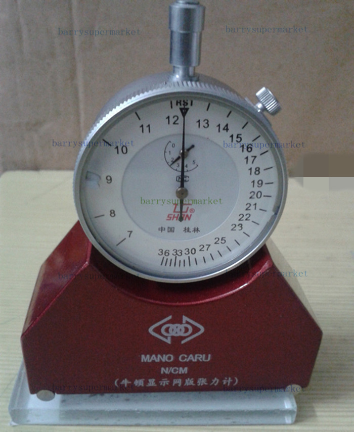 Force Measuring Instruments : Screen printing tension meter mesh force