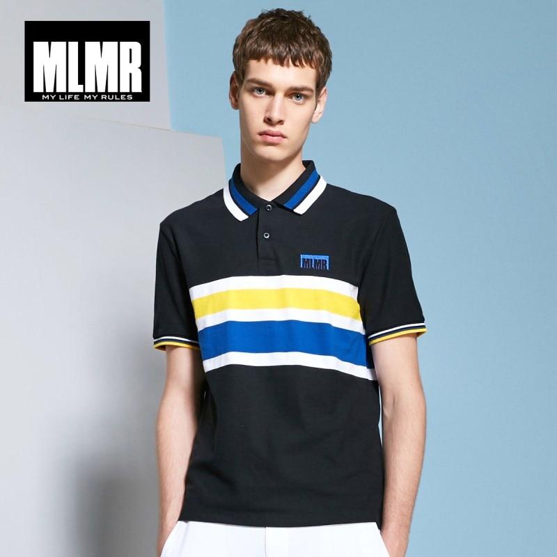 JackJones MLMR Men's Contrasting Stripe Turn-down Collar Short-sleeved   Polo   Shirt Top Menswear M 218206520