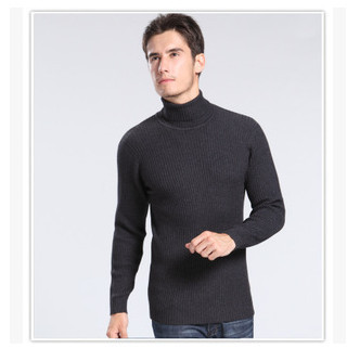 Men Turtleneck Thickening Sets Of Head Of Cultivate One's Morality Turtleneck Sweater Male Winter Sweater