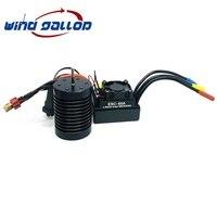 Wind Gallop RC Car 1:10 Parts F540 B3650 BL3650 3000KV 3300KV 3900KV 3930KV 4300KV 4370KV 5200KV Brushless motor 60A ESC Black