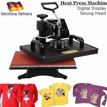 Ship from Germany 15 X12 Update Digital Heat Press Photo T shirt Sublimation Transfer Machine