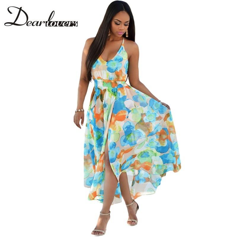HTB1 KqTKFXXXXcYXXXXq6xXFXXXc - Maxi Dress Floral Slit Romper Long Dress JKP062