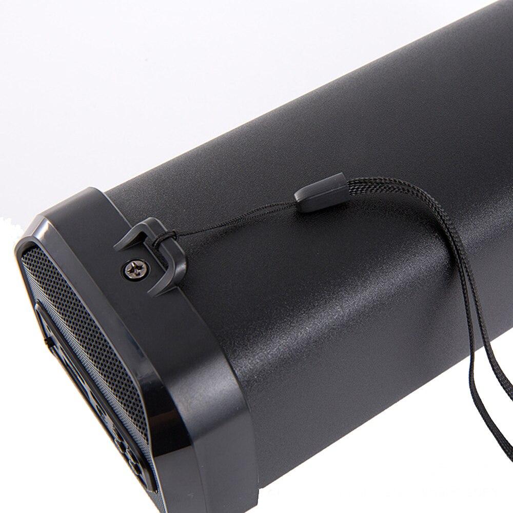 Mini haut-parleur Portable bluetooth haut-parleur extérieur sans fil boîte à musique stéréo basse Subwoofer Tweeter FM/AUX/USB/TF pour ordinateur PC - 4