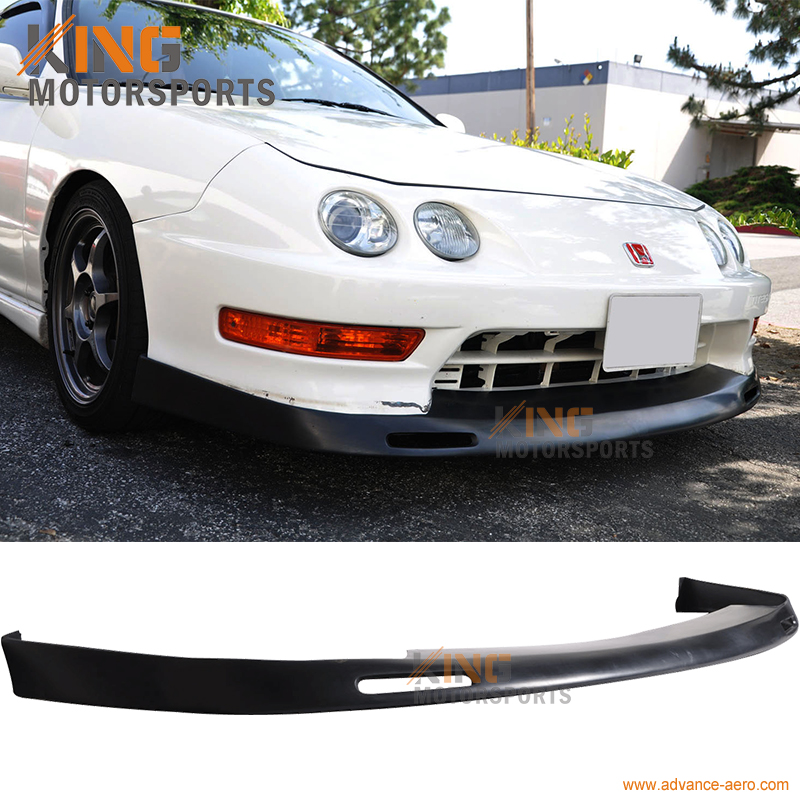 For 98 01 Acura Integra DC2 BYS Style Front Bumper Lip
