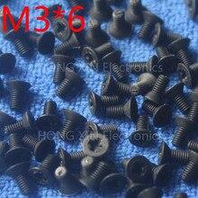 M3*6 black 1pcs Nylon Phillips Countersunk Flat Head Screw 6mm Plastic Bolt Fasteners Assortment brand new compliant PC