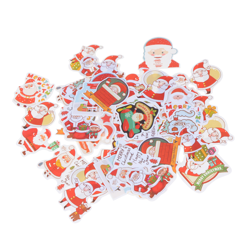 New Label Diy Scrapbook Cake Christmas Diary Album Sticker Decoration