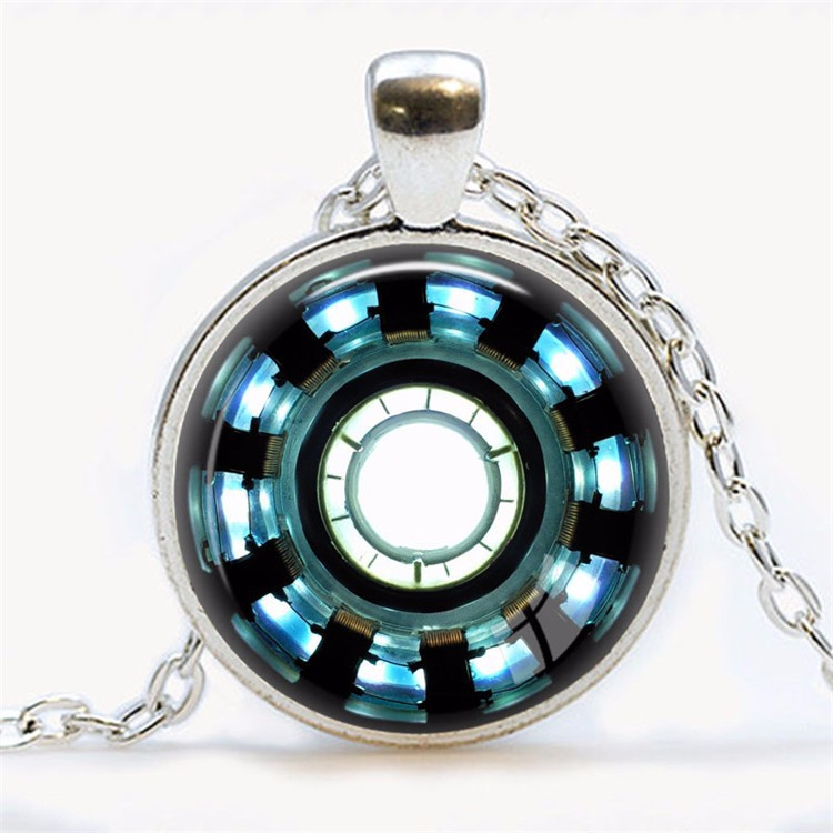 Super Awesome Iron Man Arc Reactor Necklace
