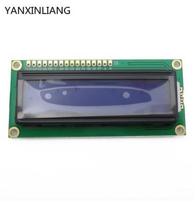5V Lcd 1602 Blue Screen Character LCD Display Module Blue Blacklight New And White Code
