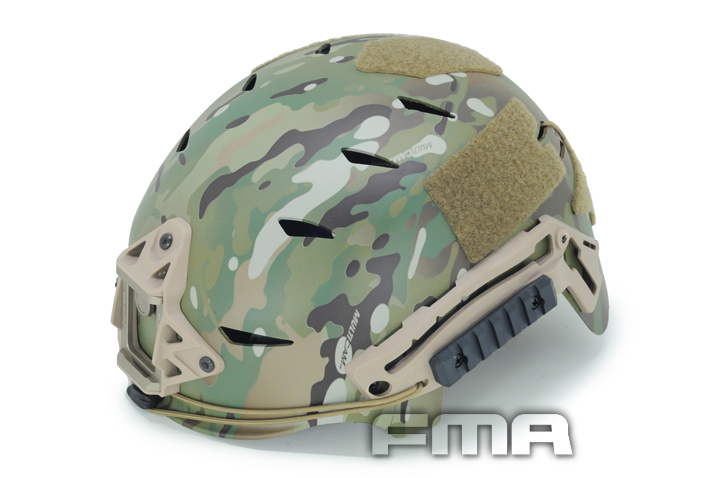 TB-FMA EX TACTICAL BUMP Helmet Multicam Military Hunting Airsoft Headwear TB785 M/L fire maple sw28888 outdoor tactical motorcycling wild game abs helmet khaki