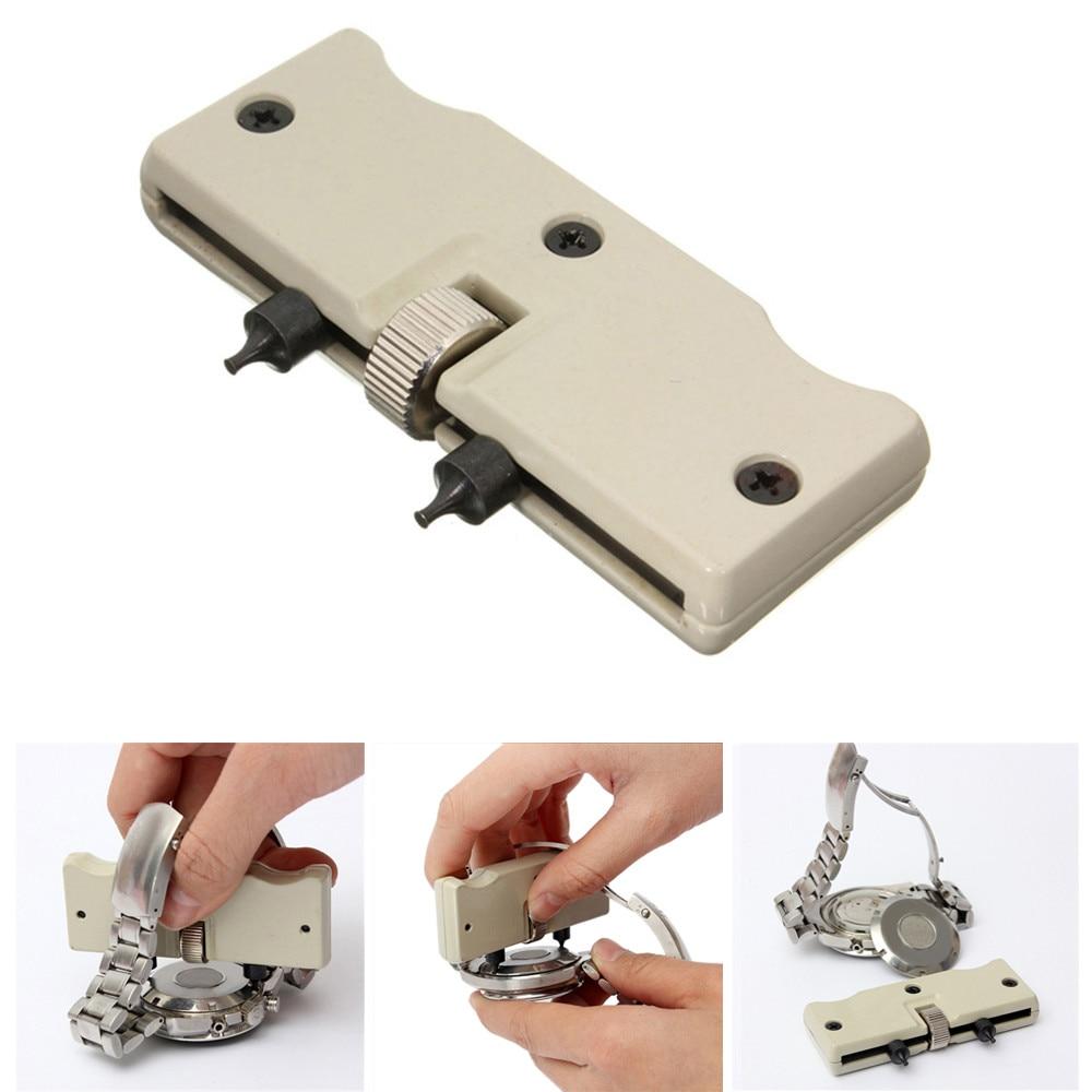 1 Satz Uhr Einstellbare Opener Zurück Fall Drücken Sie Näher Entferner Reparatur Uhrmacher Schraube Wrench Tools Für Uhren Opener Tool #714