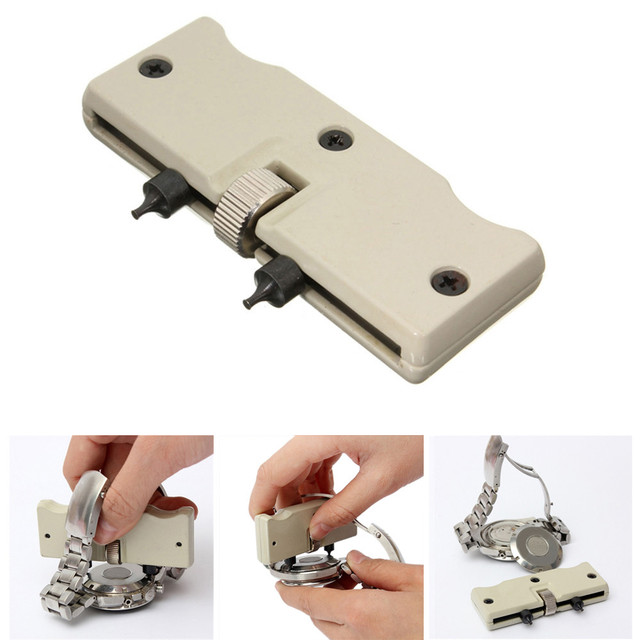 1 set Watch Adjustable Opener Back Case Press Closer Remover Repair Watchmaker S