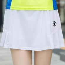 Летняя Горячая Распродажа Спортивная юбка с шортами для бадминтона и настольного тенниса шорты дышащий двусторонний дозатор для соуса с закрывающимися крышками Леди Йога Гольф юбки для бега