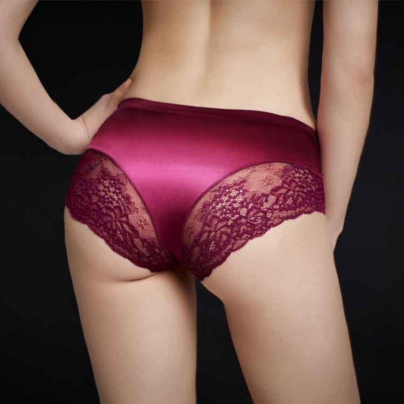 2XL Large Size Hot Sale Briefs For Women Sexy Lace Underpants Cute Underwear Woman Calcinha Lingerie Women's Seamless Panties
