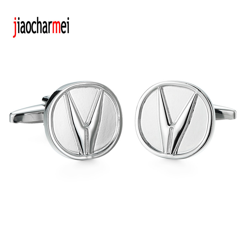 12 pairs of wholesale sales, new fashion high-end mens brand Cufflinks jewelry boutique car logo Cufflinks