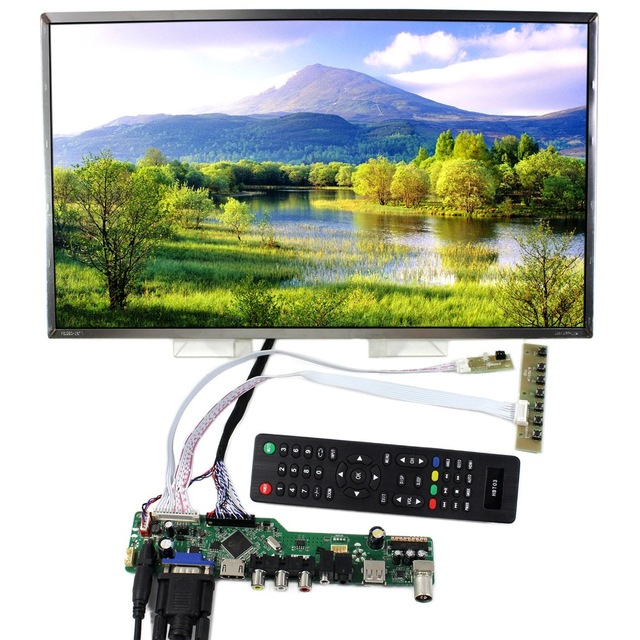 Image 5 - kit for LP156WH4(TL)(A1) TV AV 1366X768 15.6 Screen panel LCD  LED remote VGA 40pin LVDS Controller board driver HDMI USBLaptop Repair  Components