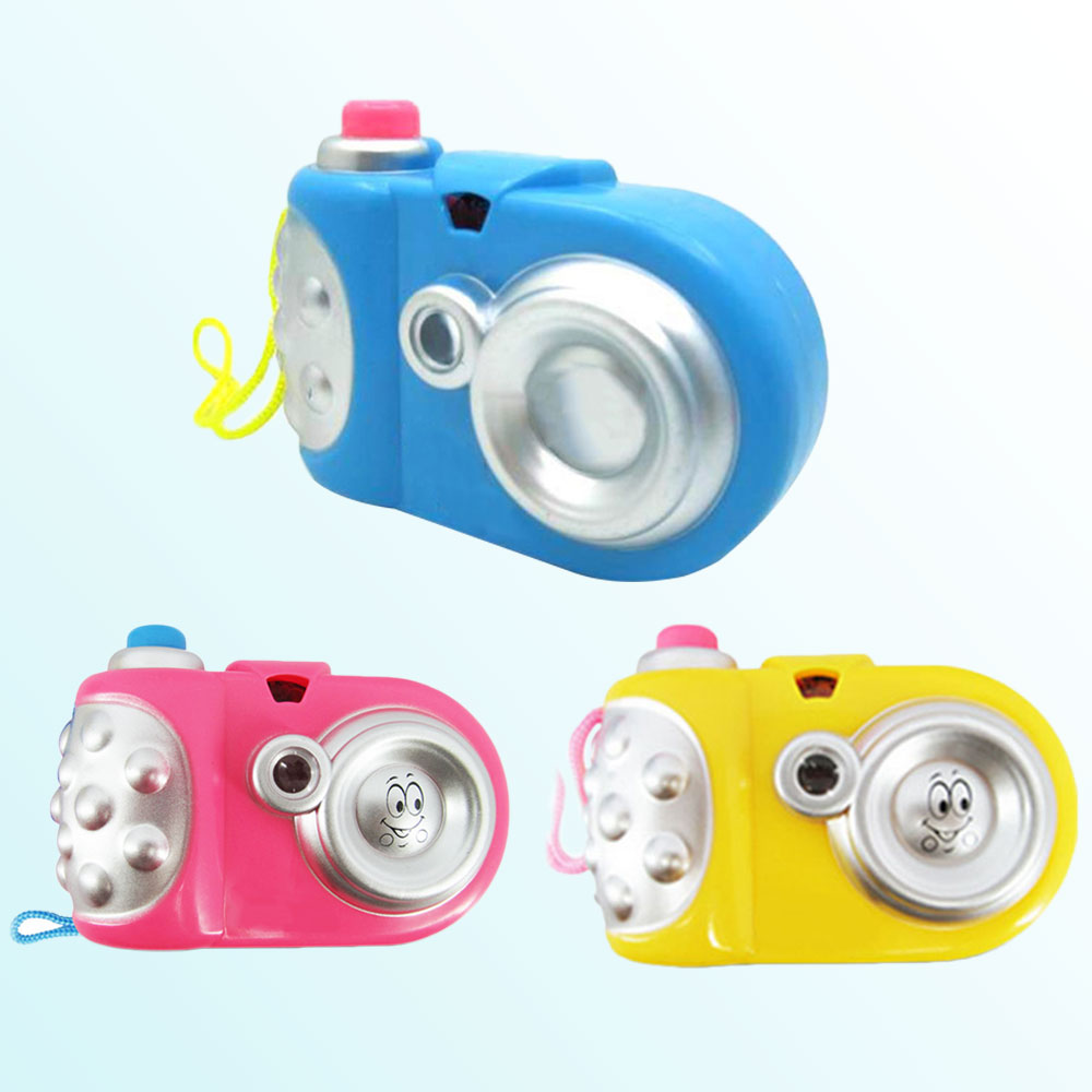 Cartoon Light Projection Camera Learning Educational Toy Gifts Children Kids Fun