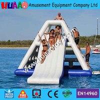 2016 inflatable water slide Inflatable water toys(CE pump+repair kit)