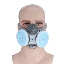 Industriële Anti Dust Bescherm Masker Deeltje Filter Gasmasker Werkplek Arbeid Veiligheid Beschermen Respirator