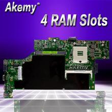 Akemy G53SW материнская плата для ноутбука ASUS G53SW G53SX G53S G53 VX7 VX7S Тесты оригинальная плата 4 ram-гнёзда