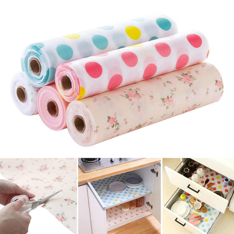 Household Mat Household Printed Pattern Moisture Wardrobe Waterproof Drawer Pad Antibacterial Cabinet Paper