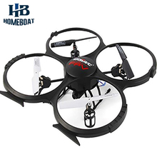 U818A Wifi FPV 2.4G 4CH 6 Axis Gyro UFO Drone RC Headless Quadcopter with 0.3MP/2 MP HD Camera One Key Return Helicopter