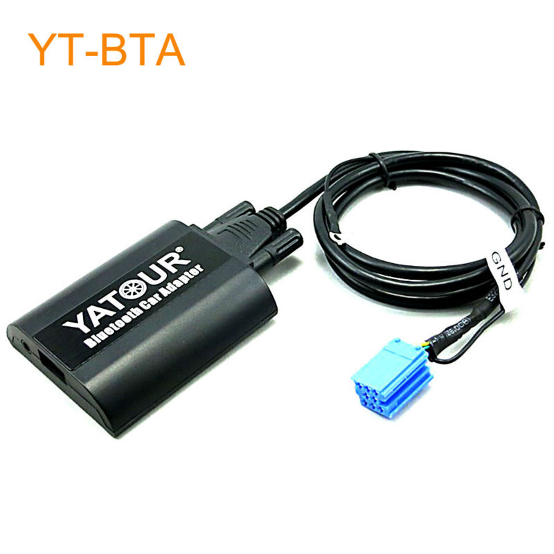 Yatour BTA Car Bluetooth Adapter Kit for Factory OEM Head Unit Radio for Audi A2 A3 A4 S4 A6 S6 A8 S8 TT AllRoad yatour car bluetooth adapter kit for factory oem head unit radio for audi for skoda for vw golf eos jetta passat touareg touran