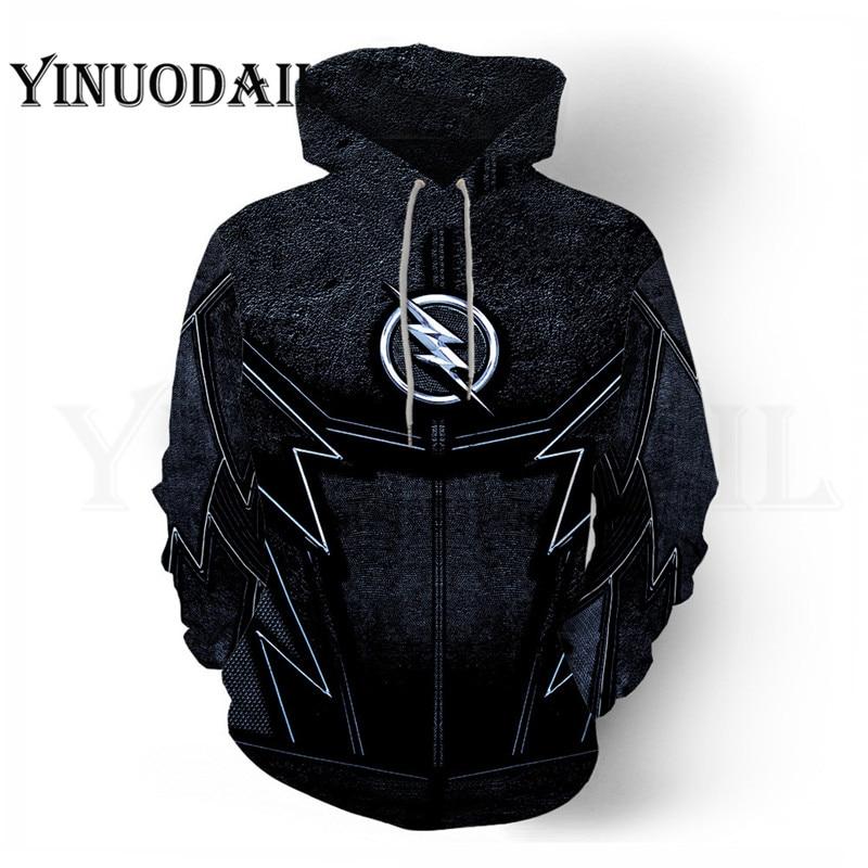 100cm-150cm Marvel The Flash Children Hoodie 3D Printed Moving Hoodies Streetwear Hip Hop Warm Hooded Men For Kids
