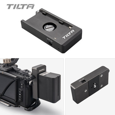 Tilta TA BTP F970 G Battery Plate 12V 7.4V Output Port with 1/4 20 Mounting Holes-in Photo Studio Accessories from Consumer Electronics    1
