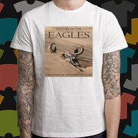 New History Of The Eagles Rock Band Legend Men S White T Shirt Size S To