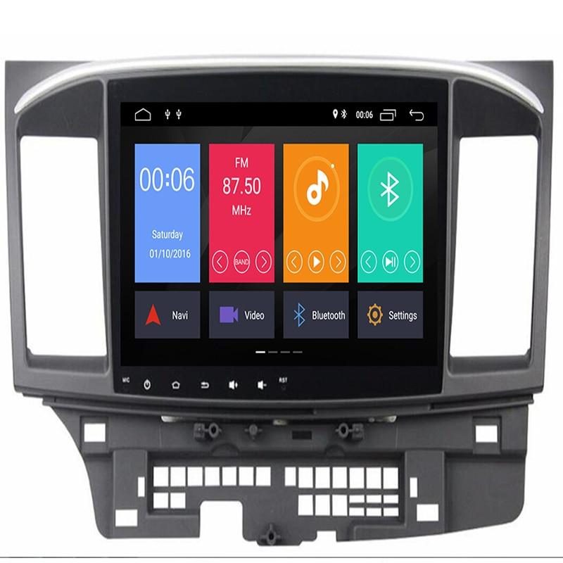 Android 9.0 Auto Radio voor Mitsubishi lancer 10.1 pouces Octa Core wifi Bluetooth vidéo audio multimédia 2 din auto dvd-speler