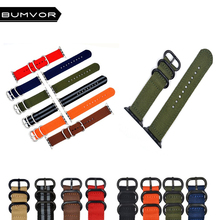 NEW Hot Sell  Nylon Watchband for Apple Watch Band Series4/3/2/1 Sport Woven Bracelet 40MM/44MM 42MM/38MM Strap For iwatch Band