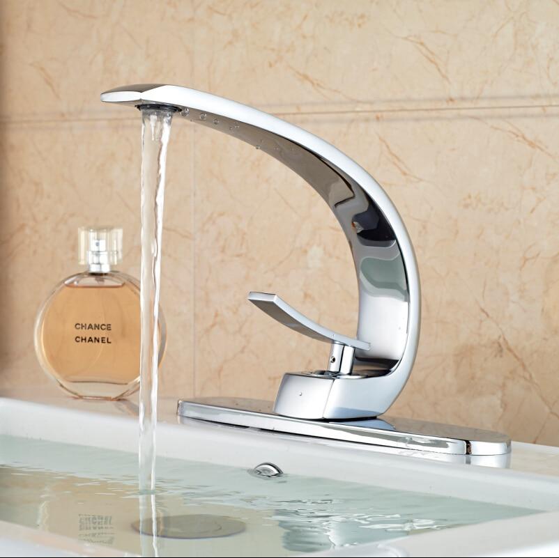 Hole Cover Plate High Quality Bathroom Tub Faucet Chrome Finish Deck ...
